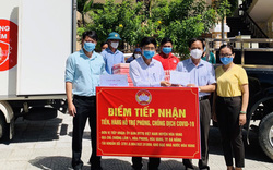 Ca sĩ Mỹ Tâm gửi quà ủng hộ Đà Nẵng phòng chống dịch bệnh Covid-19