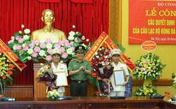 Thiếu tướng Lê Vân được bổ nhiệm giữ chức Chủ tịch Câu lạc bộ Bóng đá Công an nhân dân