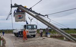 Huy động hơn 550 nhân lực, khẩn trương khắc phục sự cố điện tại Huế sau bão số 5
