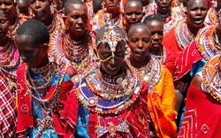 Hàng nghìn nam giới Kenya tham dự lễ hội 10 năm một lần để trở thành