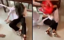 Tạm đình chỉ học tập 4 nữ sinh đánh nhau