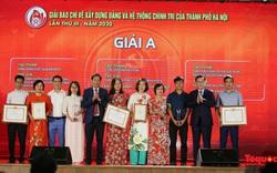 Hà Nội: Trao thưởng giải báo chí về xây dựng Đảng và phát triển văn hóa lần thứ III-2020