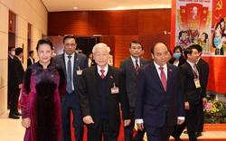 [Hình ảnh] Đại biểu tham dự Đại hội XIII của Đảng bước vào ngày làm việc đầu tiên
