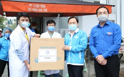 Hỗ trợ 1,5 triệu khẩu trang y tế cho tuyến đầu chống dịch
