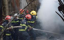 Hà Nội: Cháy khu nhà lán trọ cạnh chung cư Xa La