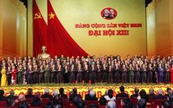 Ảnh: Ra mắt Ban Chấp hành Trung ương Đảng khóa XIII