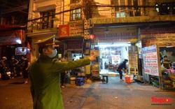 Công an Hà Nội rà soát xuyên đêm, yêu cầu hàng quán đóng cửa trước 0h ngày 16/2