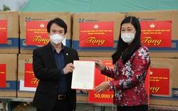 Hà Nội tặng Hải Dương 2 tỷ đồng và 50.000 khẩu trang y tế để chống dịch