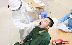 Hà Nội tiến hành xét nghiệm SARS-CoV-2 cho tân binh chuẩn bị nhập ngũ