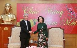 Trưởng Ban Dân vận Trung ương tiếp Ủy ban Đoàn kết Công giáo Việt Nam