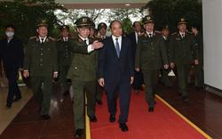 Thủ tướng thăm hỏi, động viên lực lượng Công an nhân dân dịp Tết nguyên đán