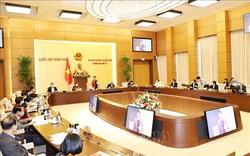 Thường vụ Quốc hội sẽ cho ý kiến công tác nhân sự để trình Quốc hội