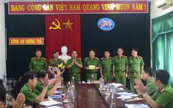 Công an Thừa Thiên Huế khen thưởng lực lượng phá chuyên án lừa đảo qua mạng, bắt 16 đối tượng
