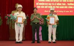 Bình Định có 2 tân Phó Giám đốc công an tỉnh