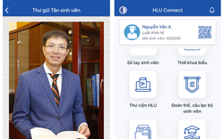 Ứng dụng HLU Connect và Cuốn sổ tay sinh viên - Món quà chào đón các tân sinh viên K46 của Trường Đại học Luật Hà nội