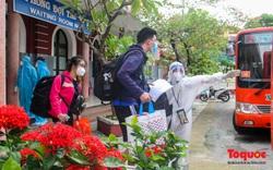 Thêm gần 600 công dân được Thừa Thiên Huế đón về quê bằng tàu hỏa