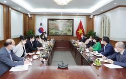 Bộ trưởng Nguyễn Văn Hùng đề nghị phía Hàn Quốc phối hợp tổ chức Tuần Văn hoá Hàn Quốc tại Việt Nam