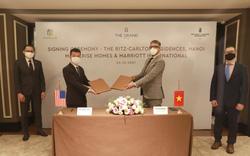 Marriott International ký kết thoả thuận hợp tác cùng Masterise Homes ra mắt khu căn hộ Ritz-Carlton tại Hà Nội