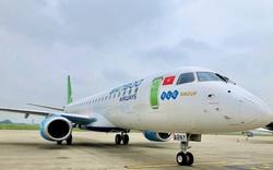 Bamboo Airways tiếp tục đón thêm phản lực Embraer, sẵn sàng tái khai thác đường bay thương mại