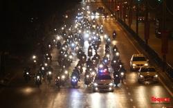 Hà Nội tổ chức đón, dẫn đường cho người dân đi xe máy từ phía Nam về quê