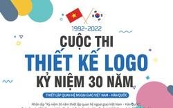 Phát động thi thiết kế logo kỷ niệm 30 thiết lập quan hệ ngoại giao Việt- Hàn