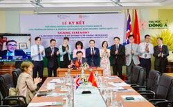 Lần đầu tiên Đại học Liverpool JM liên kết với trường Đại học ở miền Trung Việt Nam đào tạo Cử nhân Kinh tế