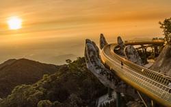 Cầu Vàng tại Bà Nà Hills đứng top 1 danh sách kỳ quan mới thế giới
