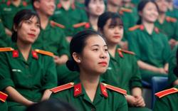 Năm 2021, các trường quân đội tuyển 81 thí sinh nữ