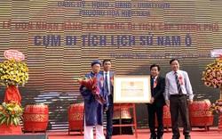 Cụm di tích lịch sử Nam Ô đón nhận Bằng xếp hạng di tích cấp thành phố