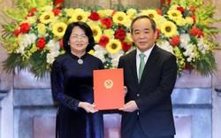 Trao quyết định bổ nhiệm ông Lê Khánh Hải giữ chức vụ Chủ nhiệm Văn phòng Chủ tịch nước