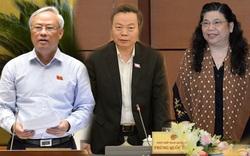 Chính thức miễn nhiệm ba Phó Chủ tịch Quốc hội