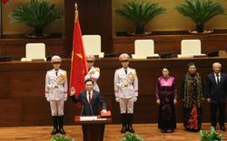 [Clip] Ông Vương Đình Huệ tuyên thệ nhậm chức Chủ tịch Quốc hội
