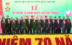 Tổng Bí thư Nguyễn Phú Trọng dự Lễ kỷ niệm 70 năm ngày Truyền thống Bệnh viện Trung ương Quân đội 108