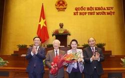 Quốc hội thông qua Nghị quyết miễn nhiệm Chủ tịch nước Nguyễn Phú Trọng