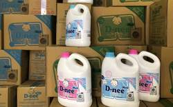 Tóm gọn cơ sở sản xuất nước giặt giả mạo nhãn hiệu Dnee