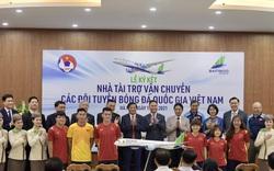 Bamboo Airways là Nhà tài trợ vận chuyển cho toàn bộ các Đội tuyển bóng đá Quốc gia Việt Nam trong 3 năm