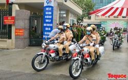 Công an Hà Nội ra quân bảo đảm an ninh, trật tự cho bầu cử Quốc hội khóa XV