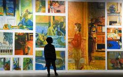 """""""Ngoài"""" và """"trong"""" ở triển lãm của Claude Monet và Pierre Bonnaer tại VCCA."""