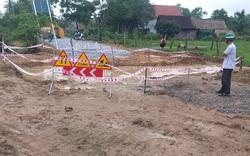 Quảng Bình: Cháu bé bị đuối nước thương tâm dưới hố công trình