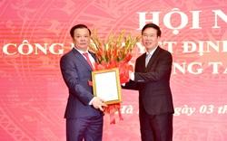 Công bố quyết định phân công ông Đinh Tiến Dũng làm Bí thư Thành ủy Hà Nội