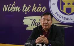 Tân HLV Hà Nội FC giữ nguyên mục tiêu nằm trong nhóm top đầu
