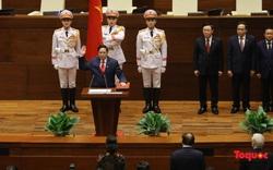 Chùm ảnh: Tân Thủ tướng Phạm Minh Chính tuyên thệ nhậm chức