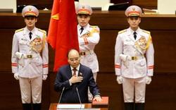 Chùm ảnh: Lễ tuyên thệ nhậm chức của Chủ tịch nước Nguyễn Xuân Phúc