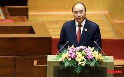 Tân Chủ tịch nước Nguyễn Xuân Phúc: Đất nước ta nhất định sẽ vượt qua mọi sóng to, gió cả