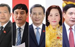 Năm nhân sự vừa được bầu làm Ủy viên Ủy ban Thường vụ Quốc hội là những ai?