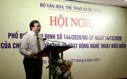Bộ VHTTDL tổ chức Hội nghị phổ biến Nghị định mới về hoạt động nghệ thuật biểu diễn tại khu vực miền Trung