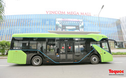 Chính thức đưa xe buýt điện VinBus vào sử dụng