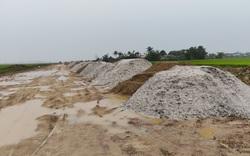 Lập biên bản, xử lý hàng trăm khối cát