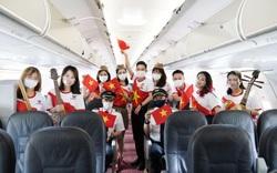 Hành trình đặc biệt mừng ngày Thống nhất đất nước 30-4 trên tàu bay Vietjet