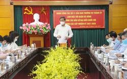 Phó Chủ tịch Thường trực UBND TP Lê Hồng Sơn: Nâng cao cảnh giác, kiểm soát dịch tốt để bảo đảm an toàn cho 182 điểm bầu cử trên địa bàn quận Hà Đông
